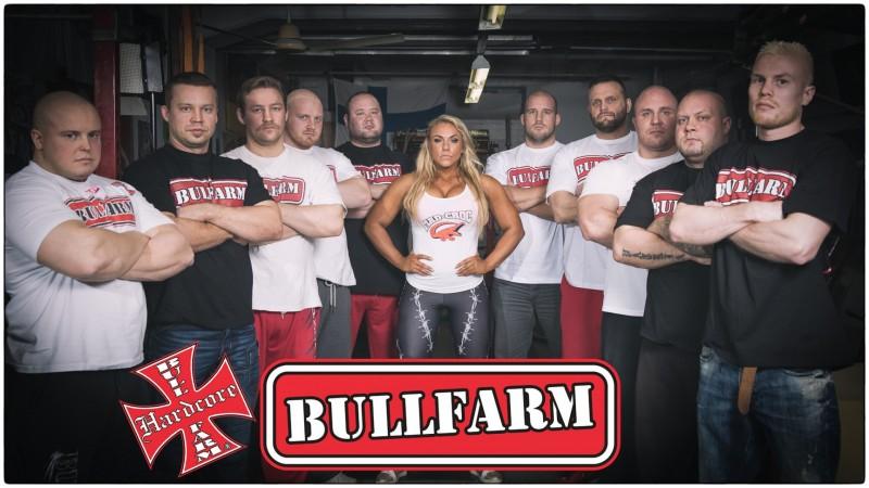 Bullfarm logolla